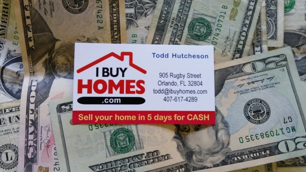 Cash home buyer